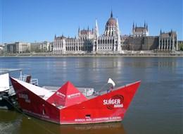 Budapešť vlakem, památky, termální lázně i tradiční trhy 2021 Budapešť a okolí Maďarsko - Budapešť - pohled na parlament stavěný podle londýnského vzoru v klasicistním stylu
