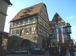 Bavorské Franky, perly UNESCO, Bamberg a festival Sandkerwa 2020 Bavorsko Německo - Rothenburg, hrázděné domy