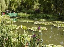 Francie - Normandie - Giverny, zahrady C.Moneta