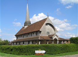 Francie - Champagne - Lentilles, kostel sv.Jakuba a Filipa, první polovina 16.stol.