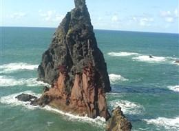 Madeira, poznávání a turistika 2020  Portugalsko - Madeira - útesy San Lorenco
