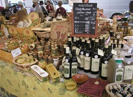 Francie - Provence -  Aix au Provence, kulinářské speciality