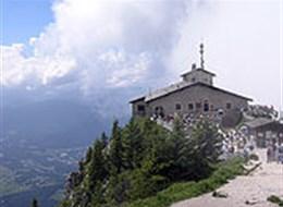 Barevný víkend v Salcbursku, Berchtesgaden a Orlí hnízdo 2021 Bavorsko Německo - Bavorsko - Kehlsteinhaus (Orlí hnízdo)