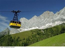 Dachsteinská bomba s kartou 2021 Alpy Rakousko - lanovka z Ramsau am Dachstein