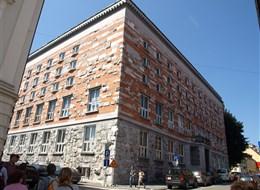 Slovinsko - Lublaň - Národní a universitní knihovna, 1936-41, Jože Plečnik