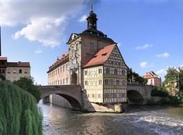 Bamberg a kouzlo adventu 2020  Německo - Bamberg - Staroměstská radnice