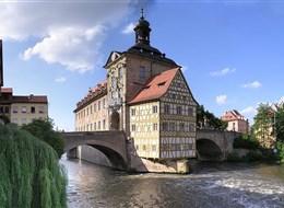 Bamberg a kouzlo adventu 2020 Německo Německo - Bamberg - Staroměstská radnice
