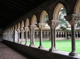 Gaskoňsko, zelené srdce Francie a kanál du Midi 2020  Francie - Gaskoňsko - Moissac, St.Pierre, románská křížová chodba bývalého kláštera