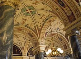 Německo - Drážďany - Semperopera, interiéry