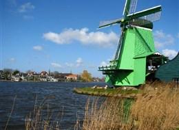 Přírodní parky a ostrovy severu Nizozemska a Gogh 2021 Belgie Holandsko - Zaanse Schans, skanzen historické holandské vesnice