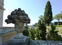 Itálie - Lazio - Caprarola, Palazzo Farnese, zahrady