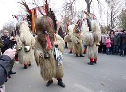 Maďarsko -  Moháč, slavnosti Busójárás