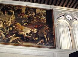 Itálie - Benátky - Scuola San Rocco, Vraždění Neviňátek, 1582-7, J.Tintoretto