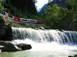 Švýcarské železniční dobrodružství 2021  Švýcarsko - Glacier express