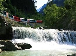 Glacier Express a Matterhorn 2020 Graubünden Švýcarsko - Glacier express