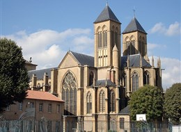 Francie - Méty - bazilika sv.Vincenta, 1248-1376