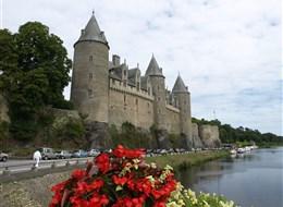 francie - Bretaň - Josselin, hrad goticko-renesanční