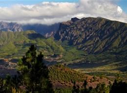 Španělsko - Kanárské ostrovy - Caldera de Taburiente, místo podivuhodné krásy
