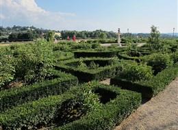 Itálie - Florencie - zahrady Boboli - Giardino del cavaliere