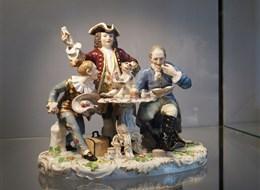 Německo - Míšeň, Muzeum porcelánu, klasické vzory
