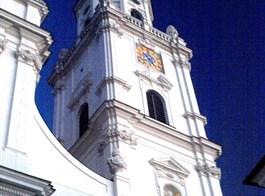 Bavorsko mnoha nej, Regensburg, Pasov a termály Bad Füssing 2020  Německo - Pasov, katedrála sv.Štěpána, zal.773, někol.přestav, barokně 1668-93, C.Lurago