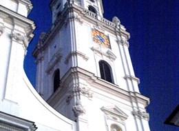 Bavorsko mnoha nej, Regensburg, Pasov a termály Bad Füssing 2020 Pasov Německo - Pasov, katedrála sv.Štěpána, zal.773, někol.přestav, barokně 1668-93, C.Lurago