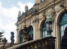 Česko-saské Švýcarsko 2020 Sasko Německo - Drážďany - Zwinger, Francouzský pavilon