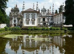 Portugalsko - Vila Real - Mateus Palace (Wiki)