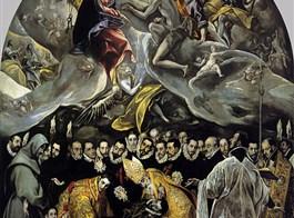 Královský Madrid, Toledo, Cuenca, perly Kastilie a poklady UNESCO 2020  Španělsko - Toledo - Santo Tomé, Pohřeb hraběte  Orgaz, El Greco, 1586-8