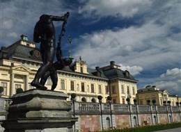 Švédsko - Drottningholm, královský palác u Stoskholmu