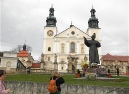 Polsko - Kalwaria Zebrzyndowska - bazilika P.Marie, 1603-9, návrh G.M.Bernardoni