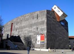 Rakousko - Vídeň - Muzeum moderního umění je také součástí Museumsquartier