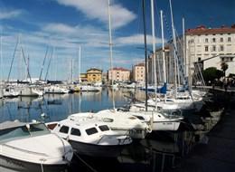 Mořský park Laguna 2020  Slovinsko - Piran - přístav, moře, jachty a dovolená