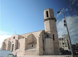 Slunná Marseille a národní park Callanques 2020  Francie - Marseille - Saint Laurent v provensálském románském slohu