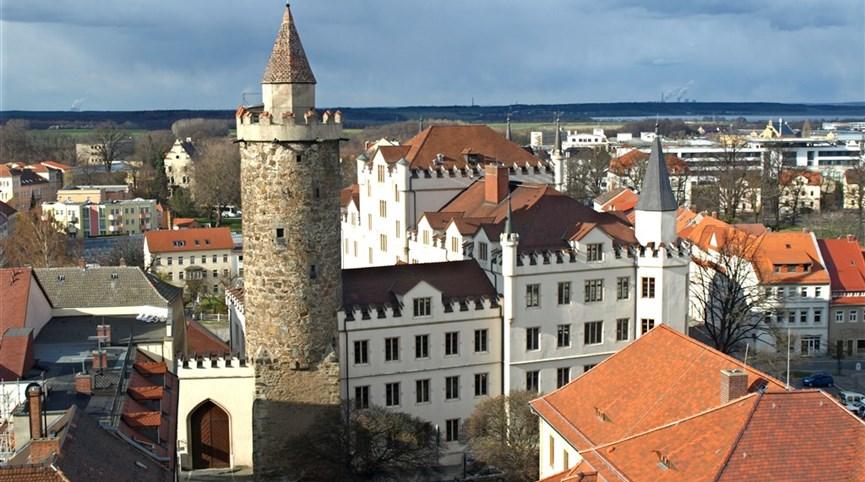 Wroclaw, Budyšín, adventní trhy 2020  Německo - Lužice - Budyšín, Serbska wěža
