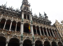 Amsterdam a Brusel, Antverpy a muzea 2020  Belgie - Brusel, Maison du Roi, 1515-66, Louis van Bodeghem