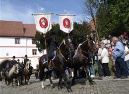 Německo - Lužice - Marienstern, velikonoční jízda