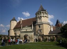 Advent v rakouských zahradách a na zámku Rosenburg 2021  Rakousko - Rosenburg, za panství Sebastiana Grabnera centrum protestantů v Rakousku