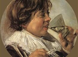 Holandsko - Frans Hals, Pijící hoch, 1626-8