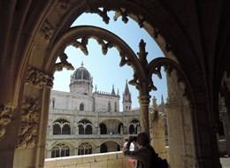 Portugalsko - Lisabon - Mosteiro dos Jerónimos, vrcholná manuelská gotika