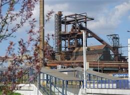 Sedm divů Slezska vlakem 2020  Česká republika - Ostrava - areál Vysokých pecí je typickou industriální architekturou (foto L.Zedníček)