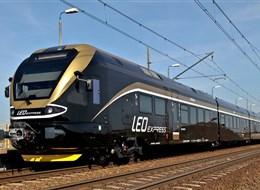 Do Tater za přírodou a termály po železnici 2022 Slovensko Česká republika - Leo expres, společnost jezdí s elektrickými jednotkami 480 (foto Leo)