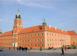 Polsko - Varšava - Královsý hrad, dnes muzeum, původně sídlo vévodů Mazovských, barokně - klasicistní (foto Lukáš Zedníček)