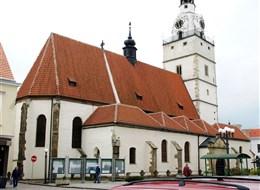 Slavnost chřestu a celebrity Ivančic 2020 Severní Čechy Česká republika - Ivančice, kostel Nanebevzetí P.Marie, 13-15.stol, gotický