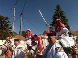 Jízda králů ve Vlčnově a UNESCO 2021  Česká republika - Slovácko - Vlčnov, Jízda králů je od roku 2011 součástí nehmotného děditství UNESCO