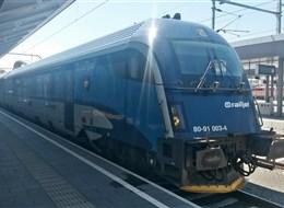 Kouzlo Štýrska rychlovlakem Railjet  a Graz 2020 Lipsko Rakousko - po celém Rakousku vás doveze tenhle atraktivní fešák - Railjet (foto L.Zedníček)