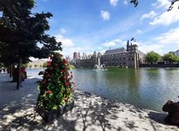 Rotterdam, Van Gogh a největší korzo světa 2020 Holandsko Holandsko - Haag - parlament, budova před 1230, postupně rozšiřována, hraběcí sídlo (foto A.Frčková)