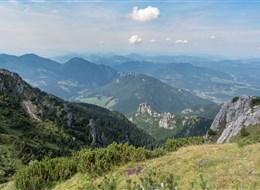 Malá Fatra, Vratná dolina a historická Žilina vlakem 2020 Slovensko Slovensko - Malá Fatra - z hřebene Malé Fatry se otevírají nádherné výhledy (foto Michal Trnka)