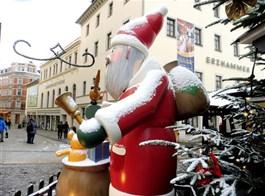 Advent v Krušnohoří, Manufaktura snů a Bergparade 2020  Německo - Annaberg - Weihnachtsmarkt.