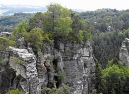 Adršpašské skály a Orlické hory 2020 Sasko Česká republika - Broumovské stěny - pískovcové věže a skalní útvary